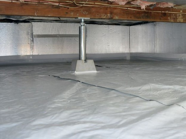 Crawl Space Waterproofing : Make home repairs easier with crawl space sealing in