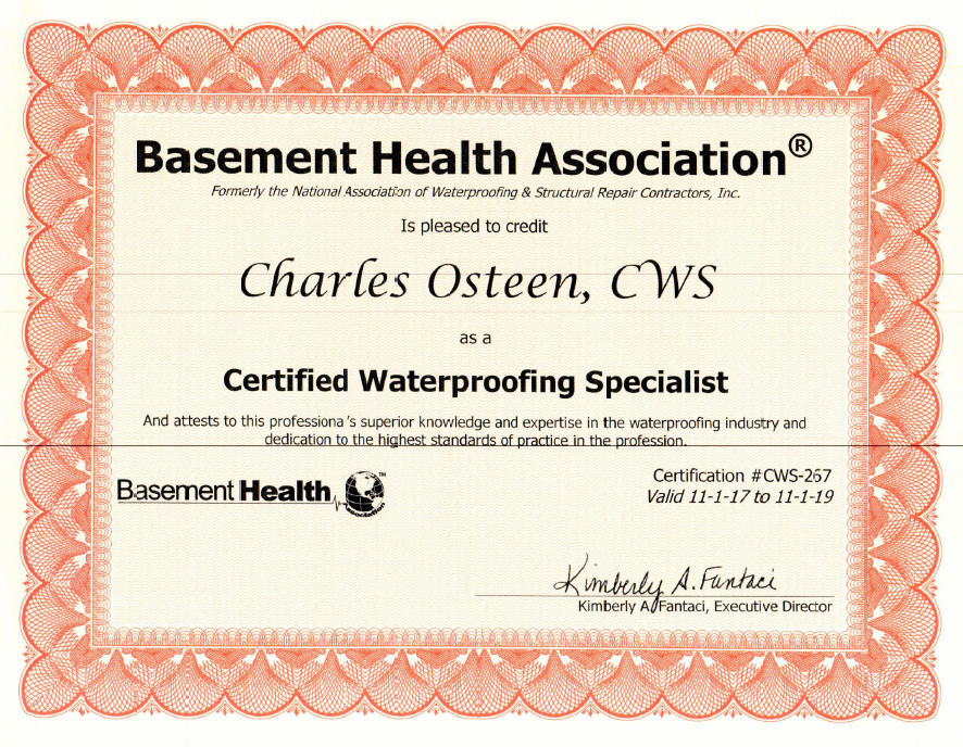 Charming CONGRATS GUYS AND THANKS FOR ALL YOUR HARD WORK! BHA Basement Health  Association