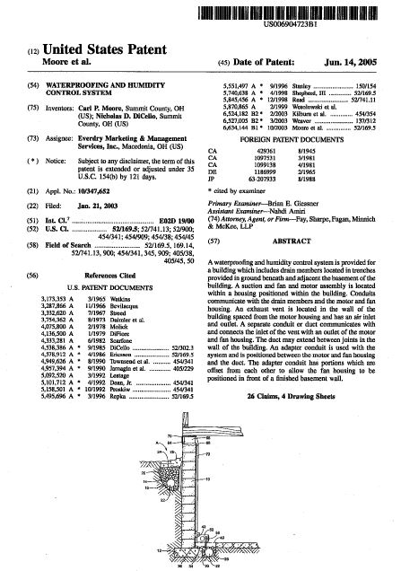 everdry waterproofing atlanta patent page 3