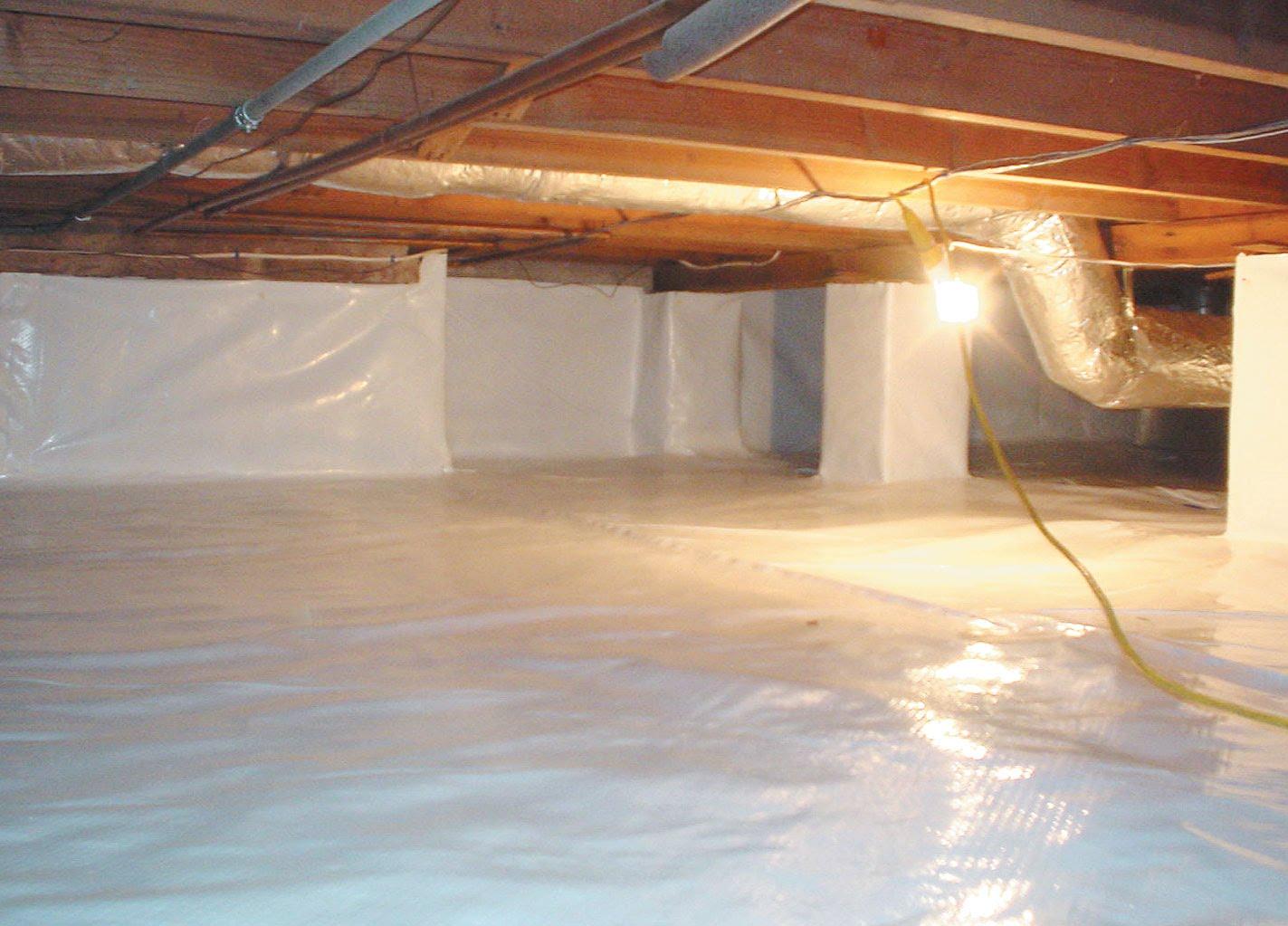 crawl space waterproofing